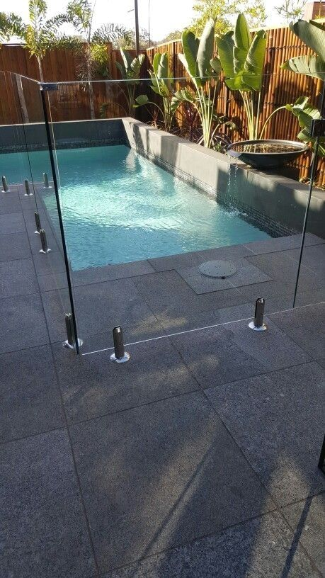 Semi Frameless Pool Fencing