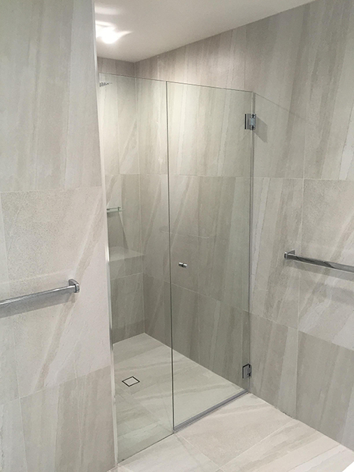 Fully Frameless Shower Screens Gold Coast