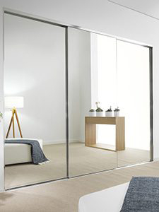 Frameless Wardrobes Doors