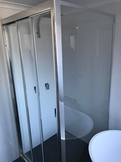 Fully Framed Shower Screen Brisbane